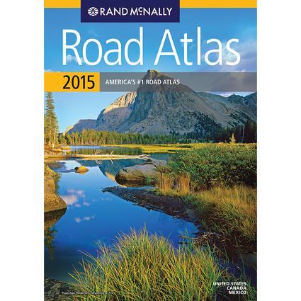 Rand McNally 2015 Road Atlas