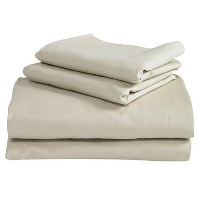 King Travasak Sheets, Ivory