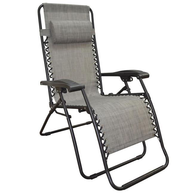 Bon Image Zero Gravity Recliner, Gray. To Enlarge The Image, Click Or Press  Enter .
