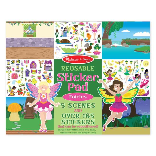 Scratch Art Coloring Book, Faries - Melissa & Doug 8603 - Toys ...