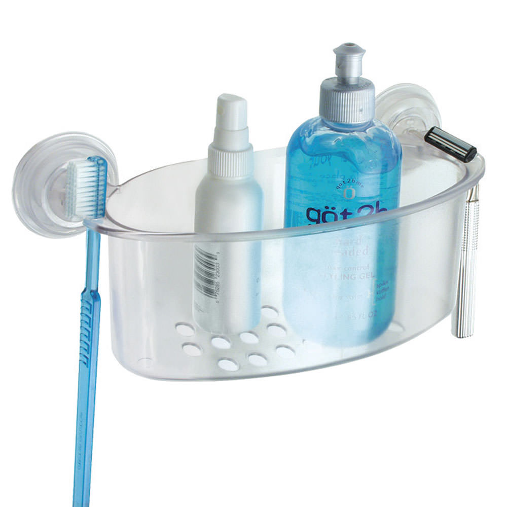 Powerlock Shower Basket - Interdesign 52320 - Bathroom Storage ...