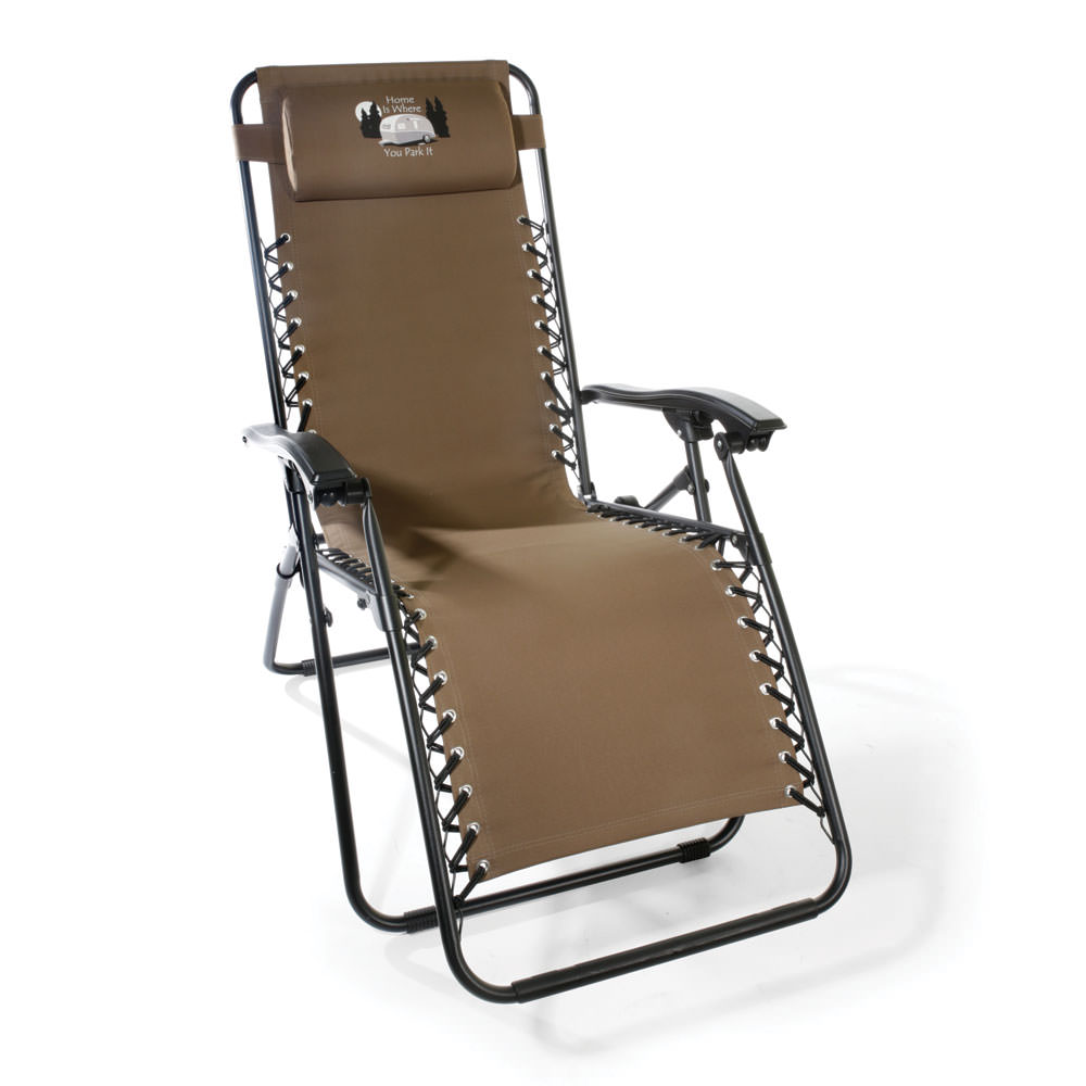 Home Is Where You Park It Zero Gravity Recliner Tan