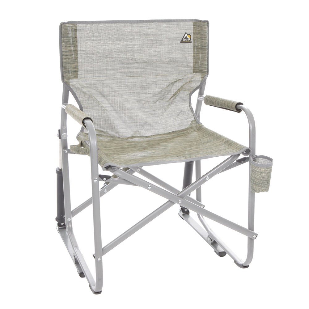 folding rocking chair mesh folding rocker green gci outdoor 37080 folding 29468