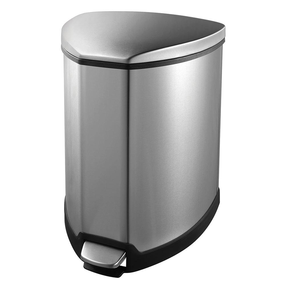 Grace Step Bin, Stainless Steel, 5L - Household 92090-1 - Kitchen Tools - Camping World