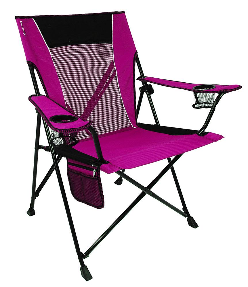 Dual Lock Chair Pink Kijaro Folding Chairs Camping World
