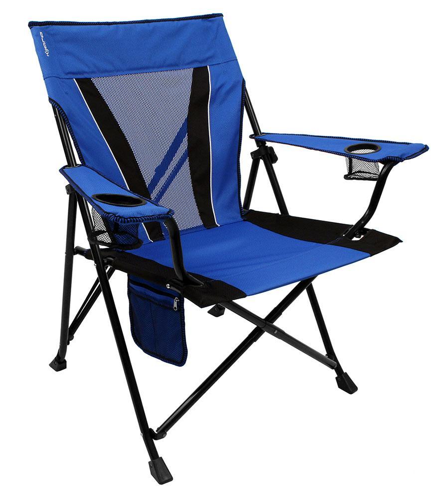 XXL Dual Lock Chair Blue Kijaro Folding Chairs Camping World