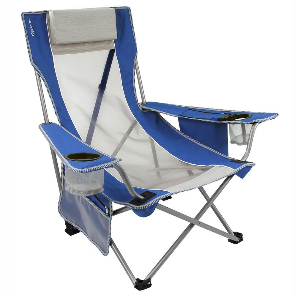 Blue Beach Sling Chair Kijaro Folding Chairs Camping World