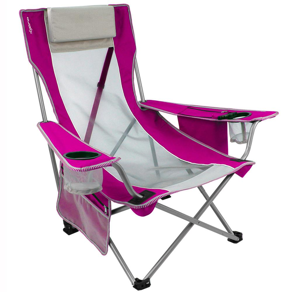 Pink Beach Sling Chair Kijaro Folding Chairs Camping World