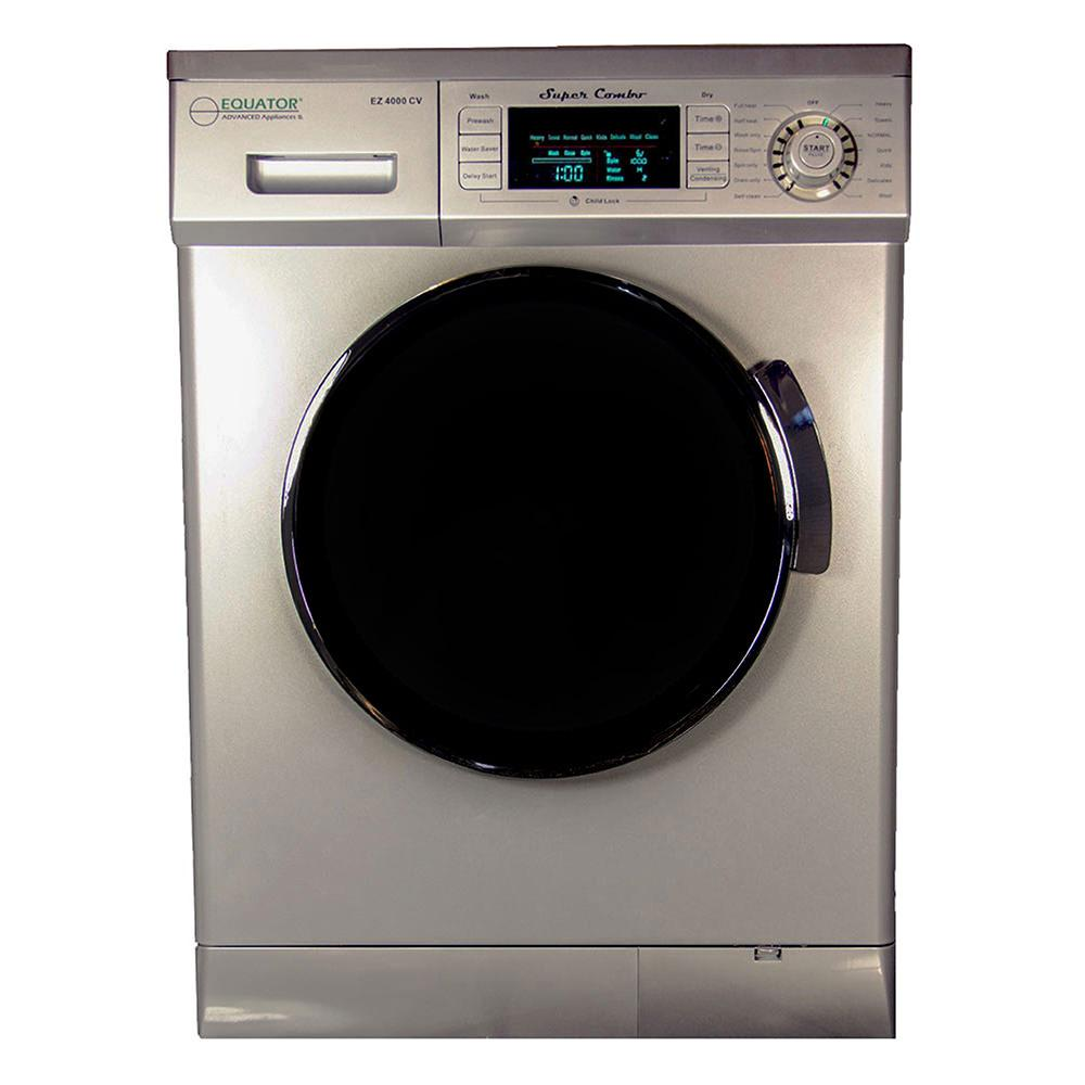 Combo Washer Dryer ~ Equator super combo washer and dryer silver