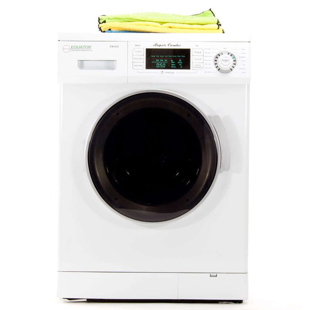 Equator Super Combo White Washer And Dryer Ebay