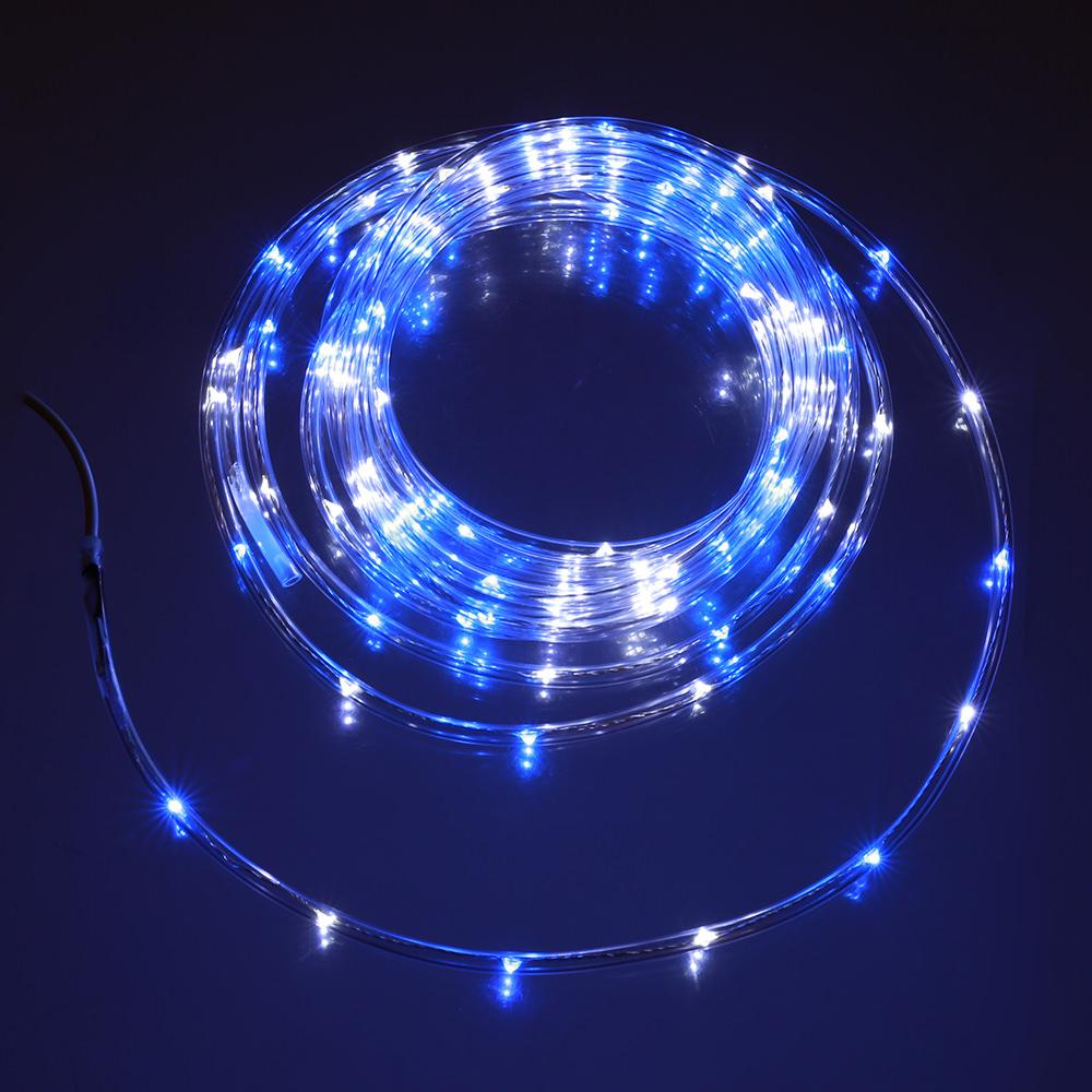 Blue & White Mini Rope Light, 16 - U-camp Products ARL100BW - Patio Lights - Camping World