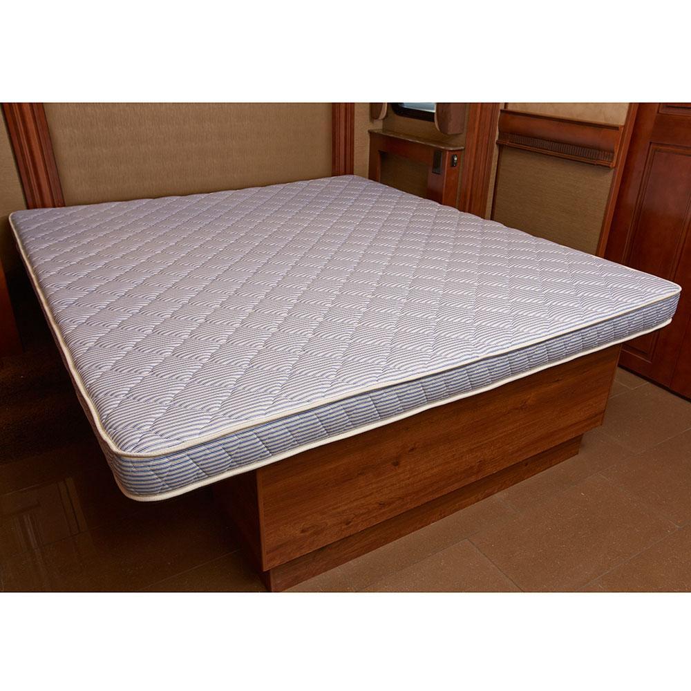 3 Quarter Bed Mattress Topper : Innerspace inch rv camper reversible mattress three