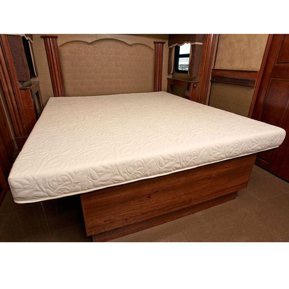 Innerspace 4 5 inch rv camper cool gel memory foam mattress twin xl 38 x 80 innerspace Twin bed mattress