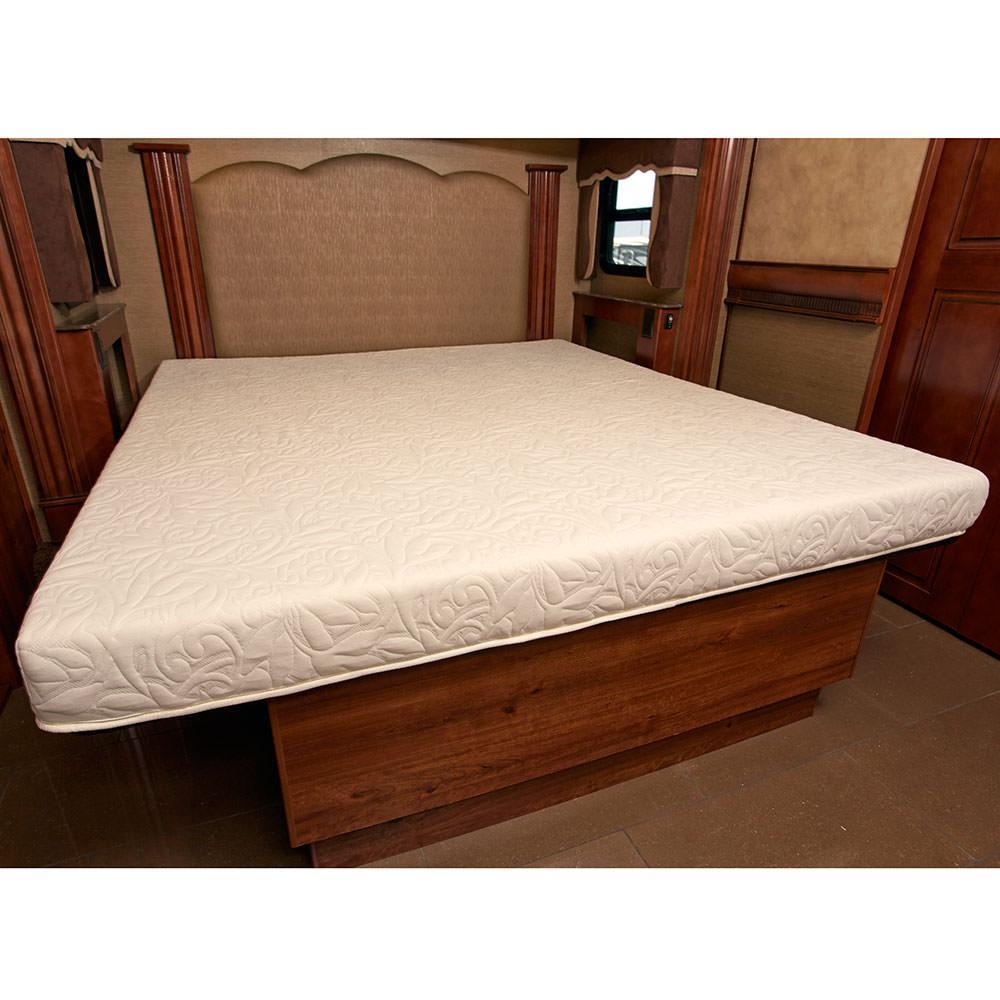 3 Quarter Bed Mattress Topper : Innerspace inch rv camper cool gel memory foam