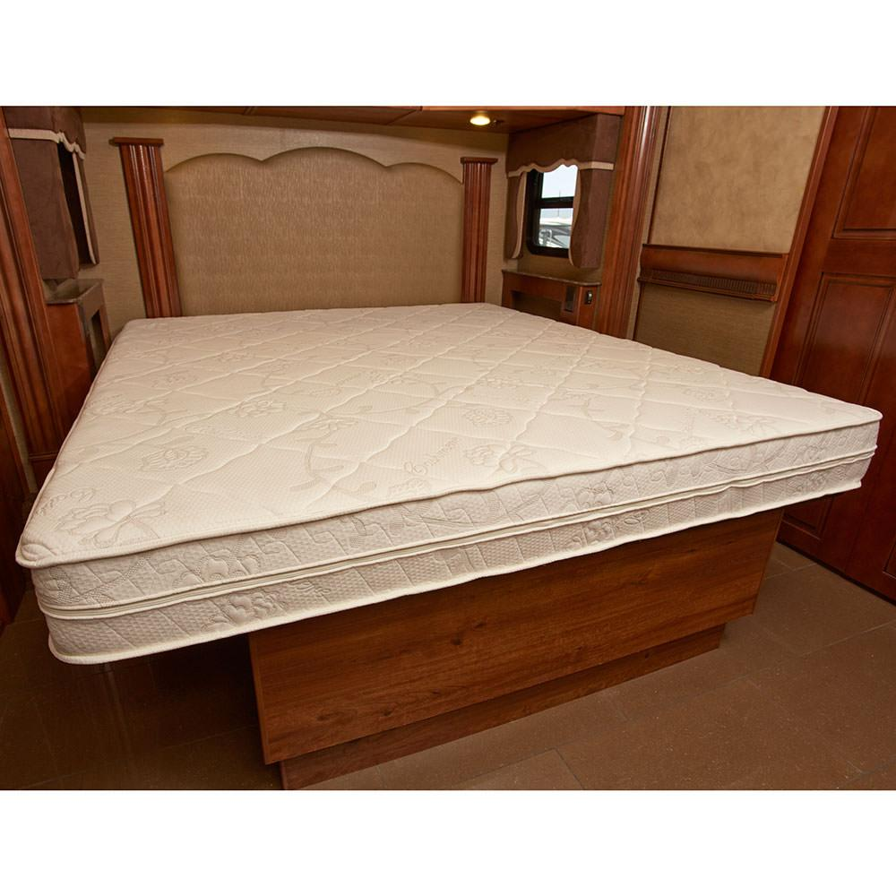 Innerspace 8 Inch Rv Luxury Deluxe Reversible Memory Foam Mattress Short Queen 60 X 75