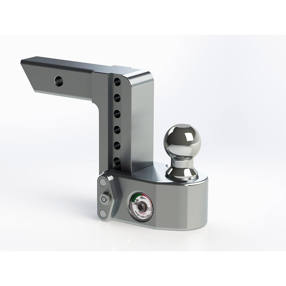 ball mount. adjustable ball mount, 6 drop 2 shaft mount