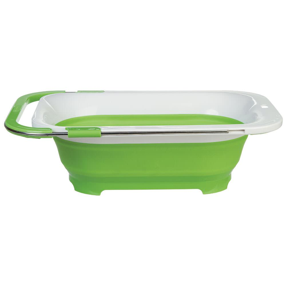 Collapsible Over Sink Colander ...