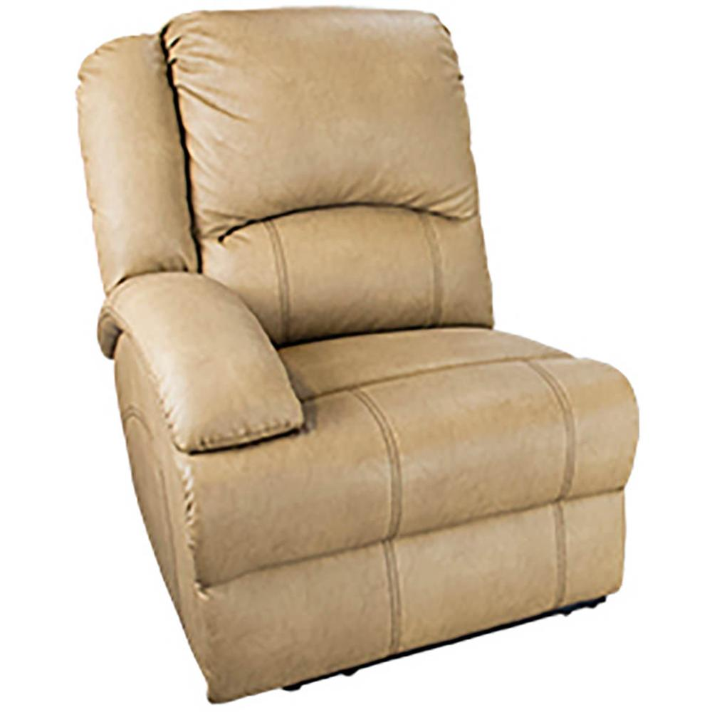 Heritage Right Arm Reclining Sofa Beckham Tan Lippert Components Inc 334503 Furniture
