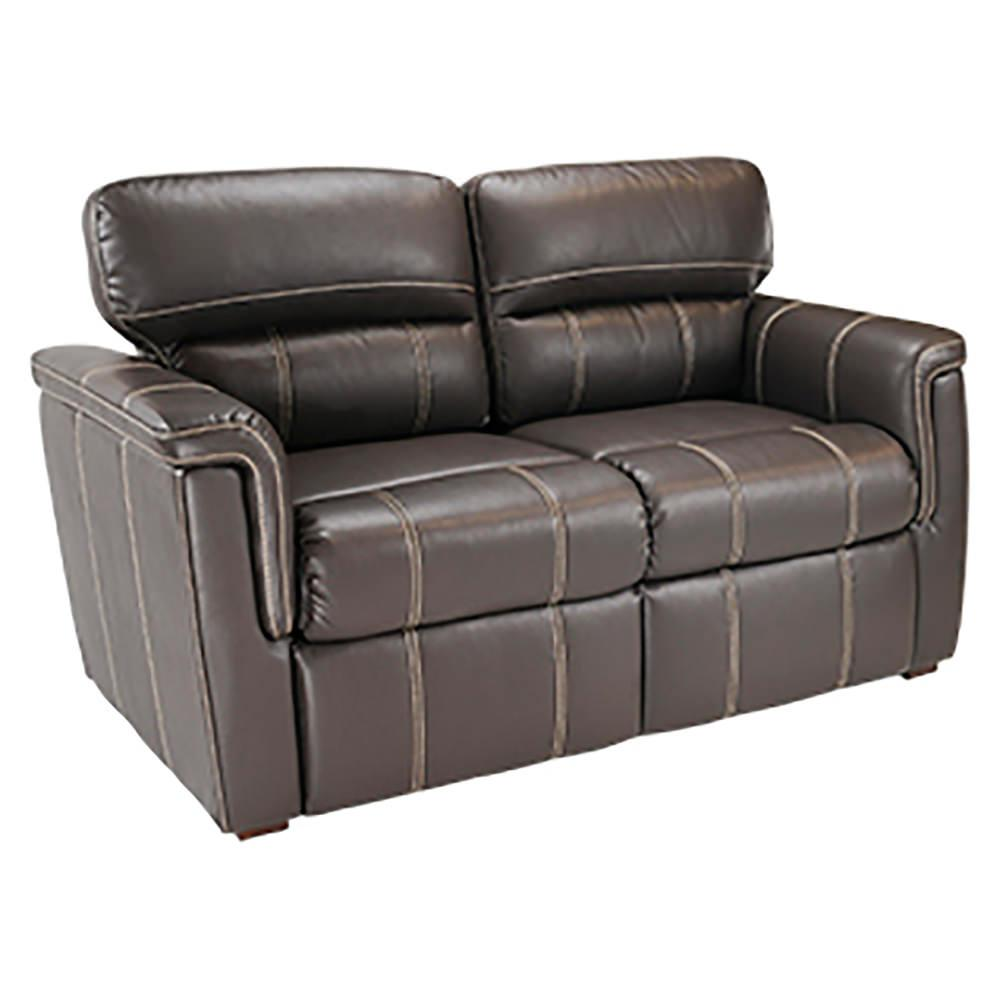 Crestwood Tri Fold Sofa 60 Chocolate Lippert
