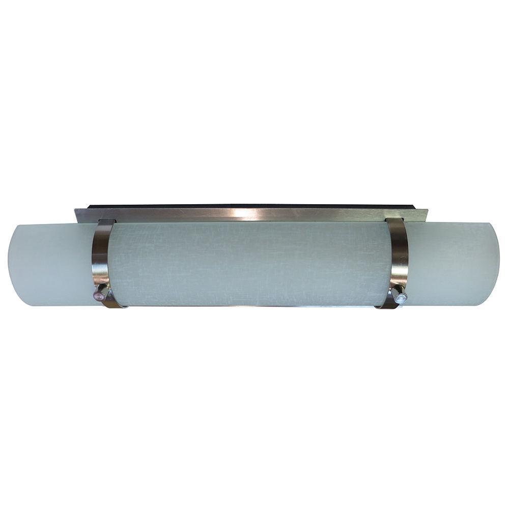Wall Sconce Led Lighting: Auburn LED Vanity Or Wall Sconce Light, Chrome