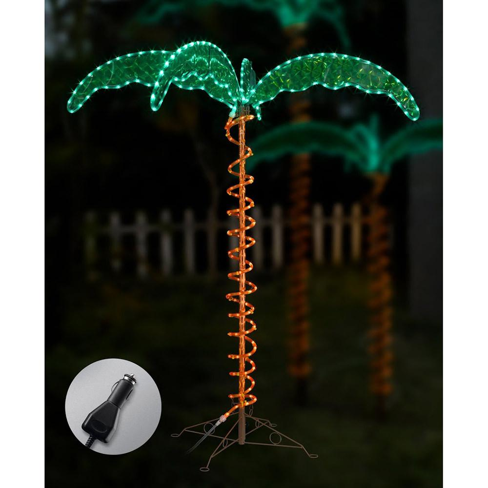 image 12v led palm tree rope light 4 5 39 to enlarge the image click. Black Bedroom Furniture Sets. Home Design Ideas