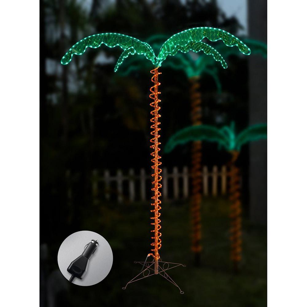 12v led palm tree rope light 7u0027
