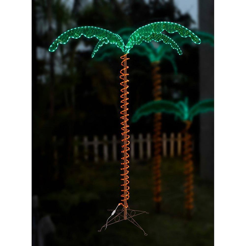 Palm Tree Patio Lights Image