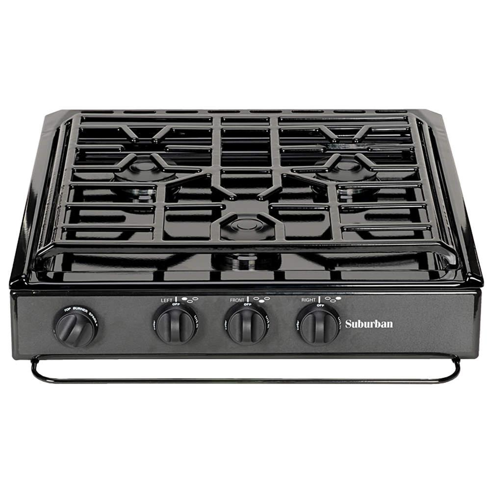 ... -In Cooktop - Suburban SCS3BEZ - Counter & Stove Tops - Camping World