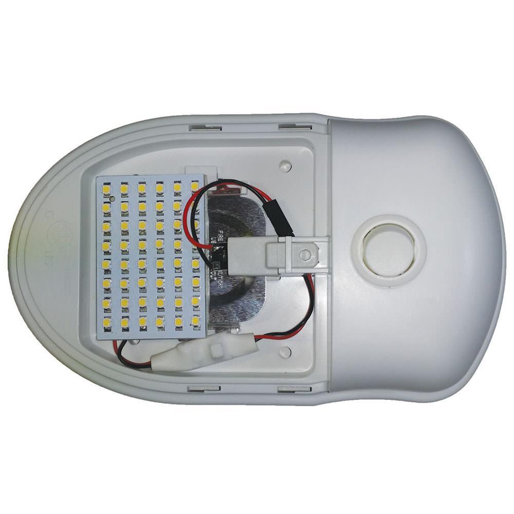 300 lumen white 48 watt led panel rv pro inc dba blackhawk cal48 w light bulbs camping world. Black Bedroom Furniture Sets. Home Design Ideas