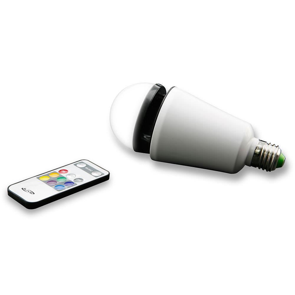 Led light bulb with bluetooth speaker dpi inc iled75w for Led light bulb with built in bluetooth speaker