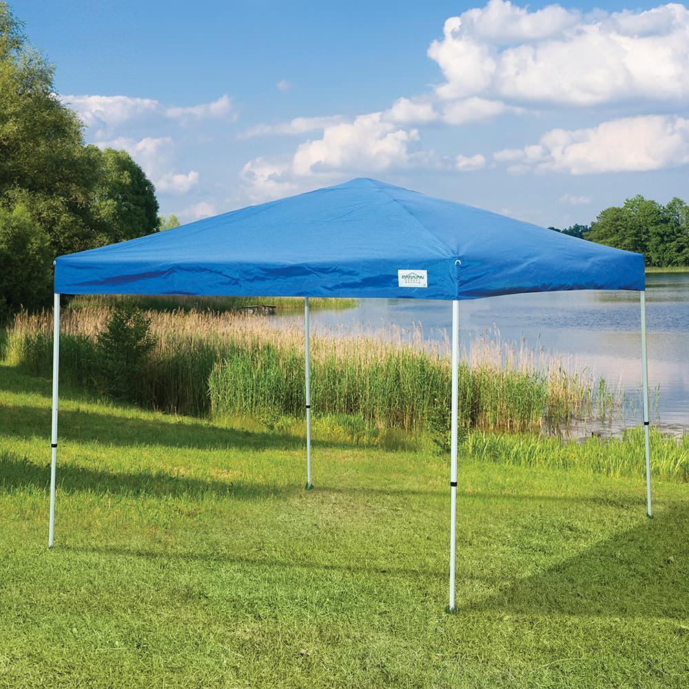 Element Instant Canopy : Straight leg canopy caravan instant