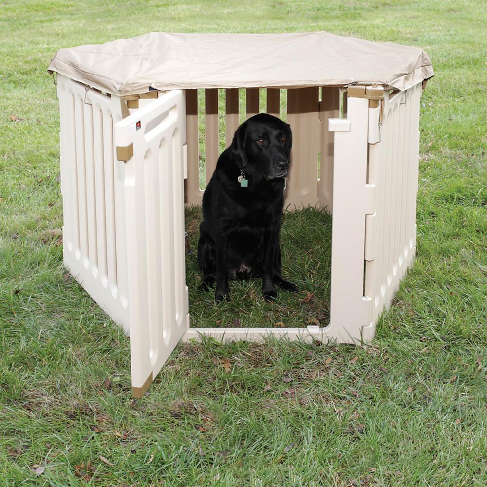 Convertible Indoor Outdoor Pet Playpen