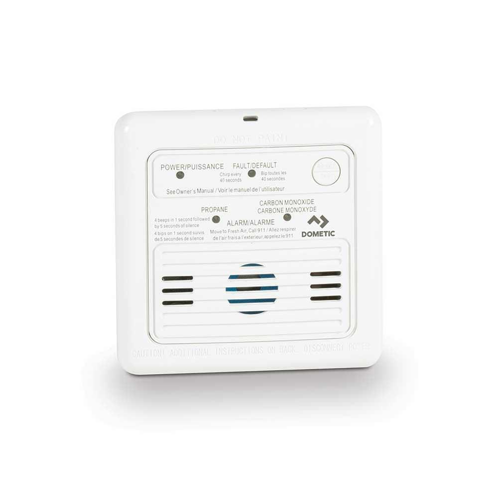 duo lp co alarm white dometic 36681 propane detectors rh campingworld com atwood carbon monoxide alarm manual kn-cob-b atwood rv carbon monoxide detector manual