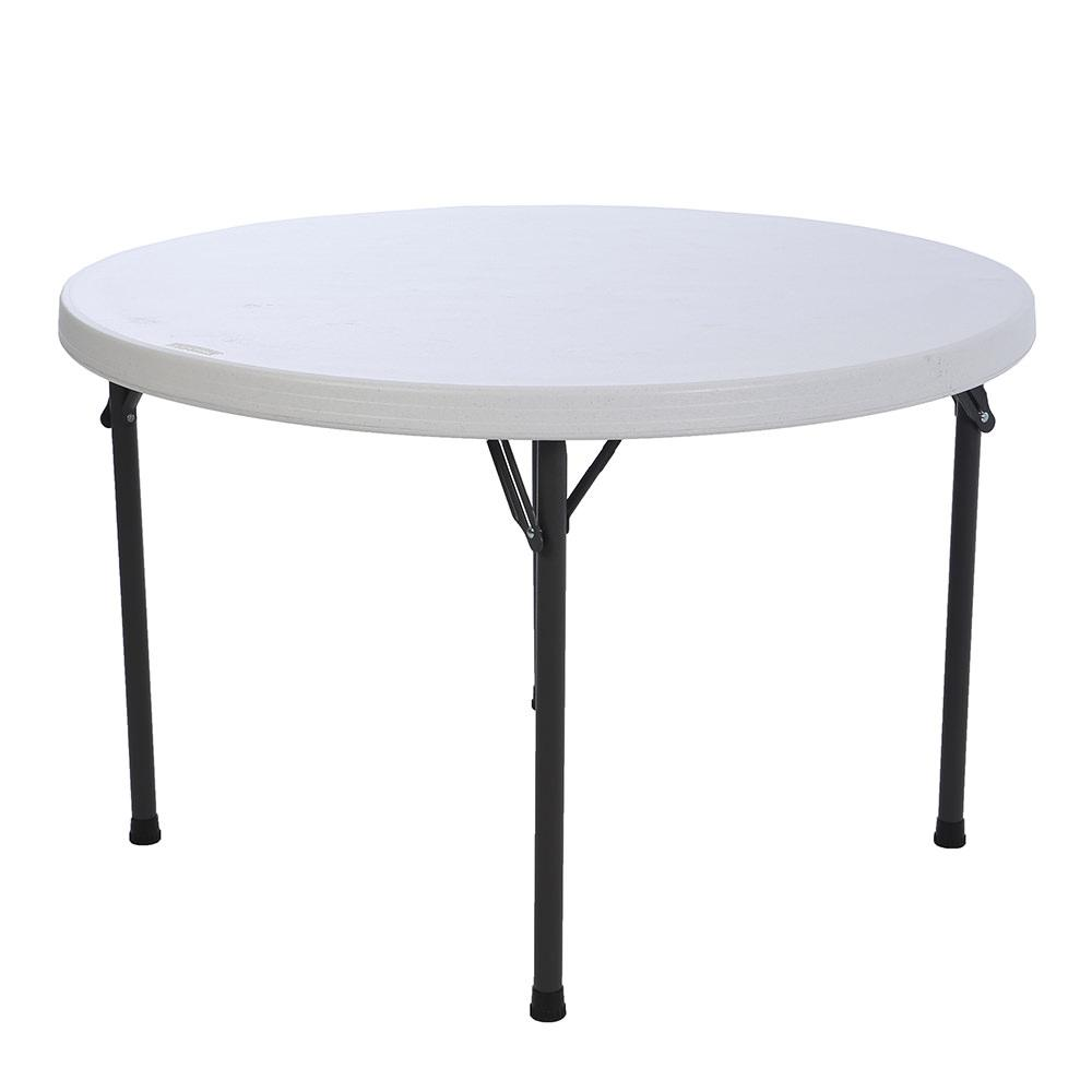 Superbe ... Round Commercial Folding Table, 46 ...