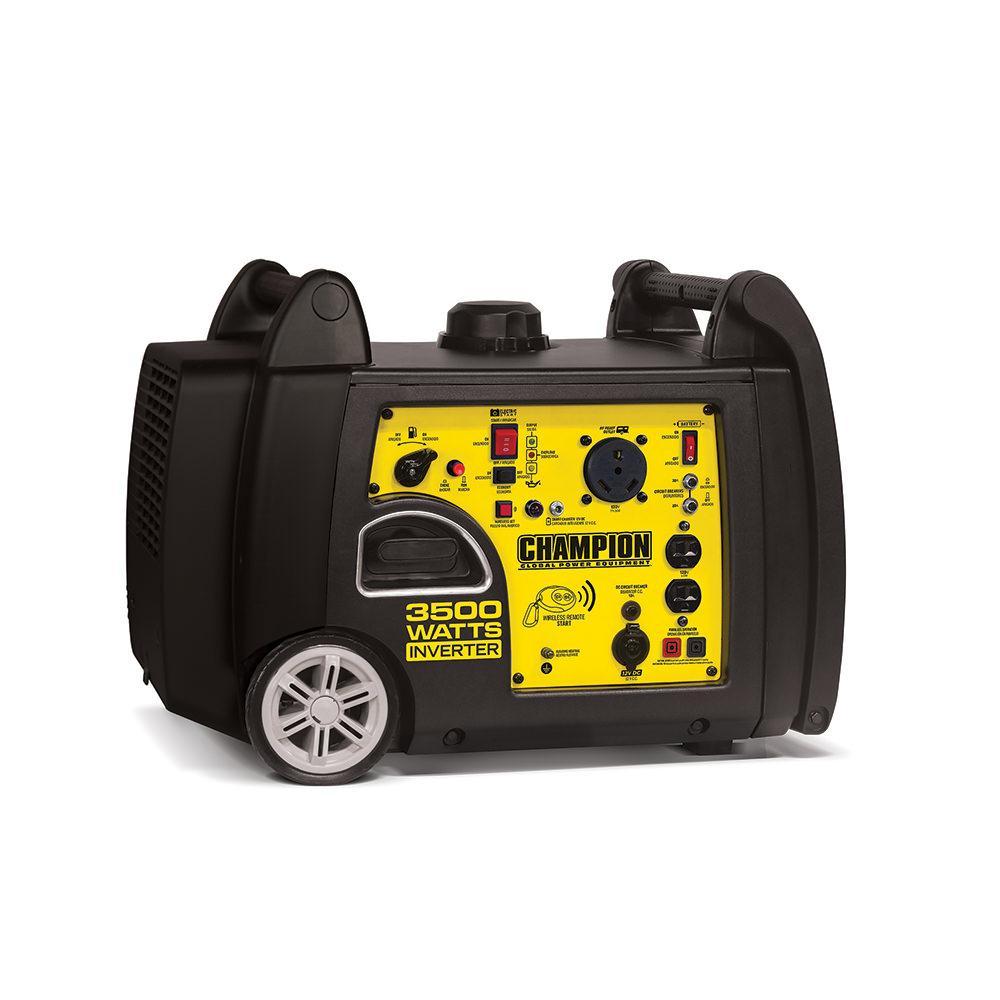 Champion 3500 Watt Inverter Portable Generator Champion
