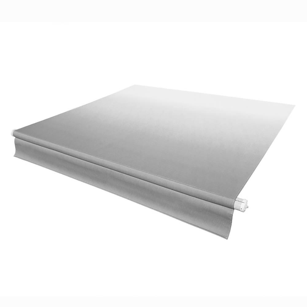 Solera Replacement Awning Fabric Silver Fade With White