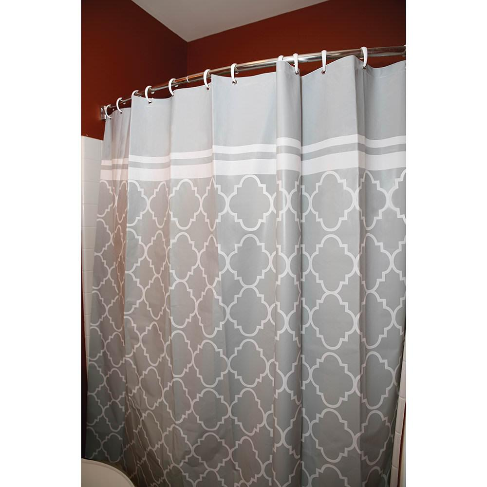 Rv shower curtain 60 w x 72 l direcsource ltd 100657 for 60s bathroom decor