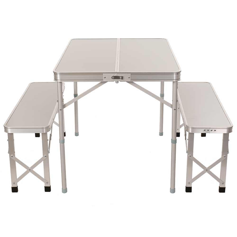 Portable Picnic Table with Benches Direcsource Ltd