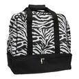 Zebra Weekender Bag