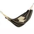 Single Brazilian Barbados Hammock, Mocha