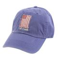 US Flag Applique Chill Cap, Blue