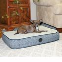 Superior Orthopedic Pet Bed, Small, Gray