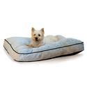 Tufted Pillow Top Bed, Medium, Gray