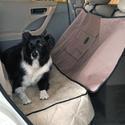 Deluxe Tan Car Seat Saver