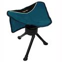 Teal Swivel Stool