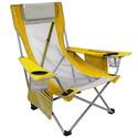 Yellow Beach Sling Chair