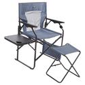 Folding Directors Chair with Ottoman