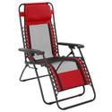 Red Mesh Recliner