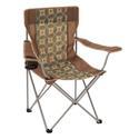 Brown Block Chair