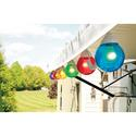 6 Multicolor Globe Lights with 30\' Cord